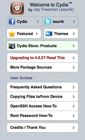 cydia