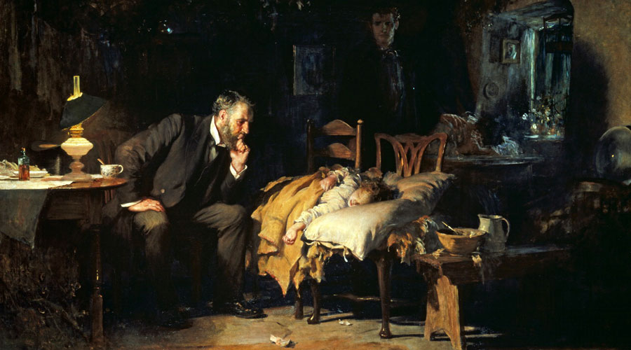 The Doctor Luke Fildes
